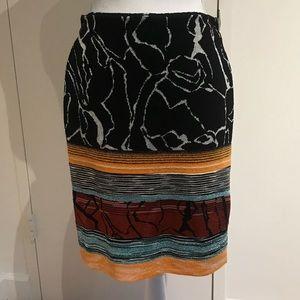 Missoni NWT embroidered skirt